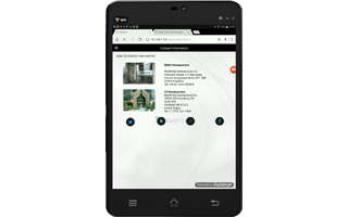 Evoke Pipeline Contacts Page App Android Screenshot