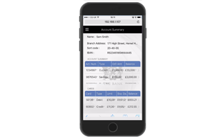 Evoke banking App Iphone Screenshot